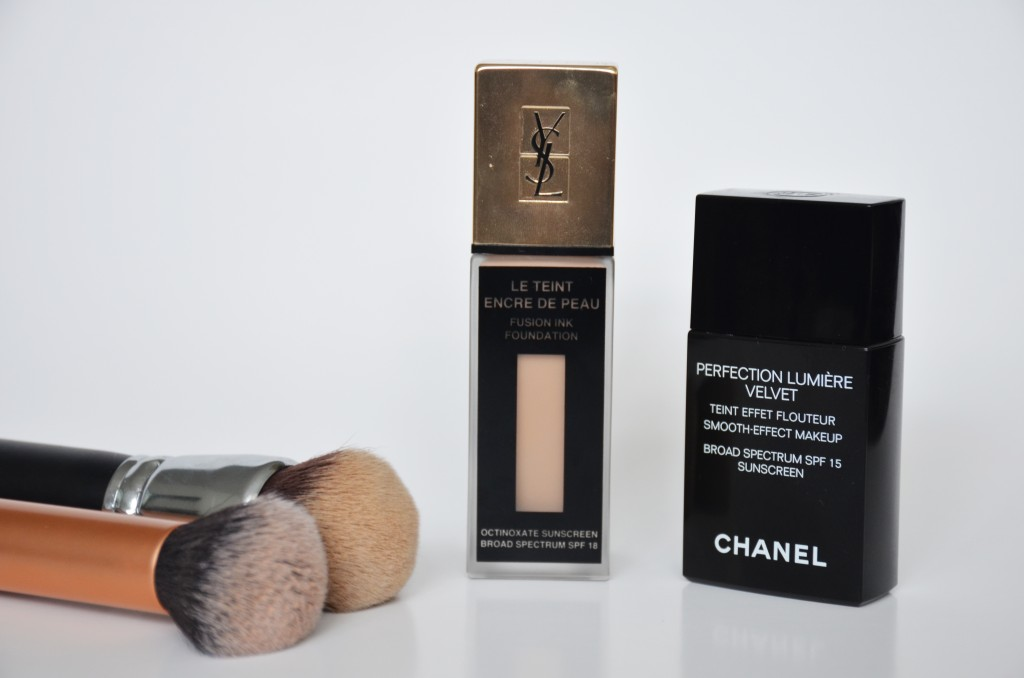 The Perfect Makeup Base Ft Ysl Fusion Ink Chanel Perefection Lumiere Velvet Foundation Makeup Sessions