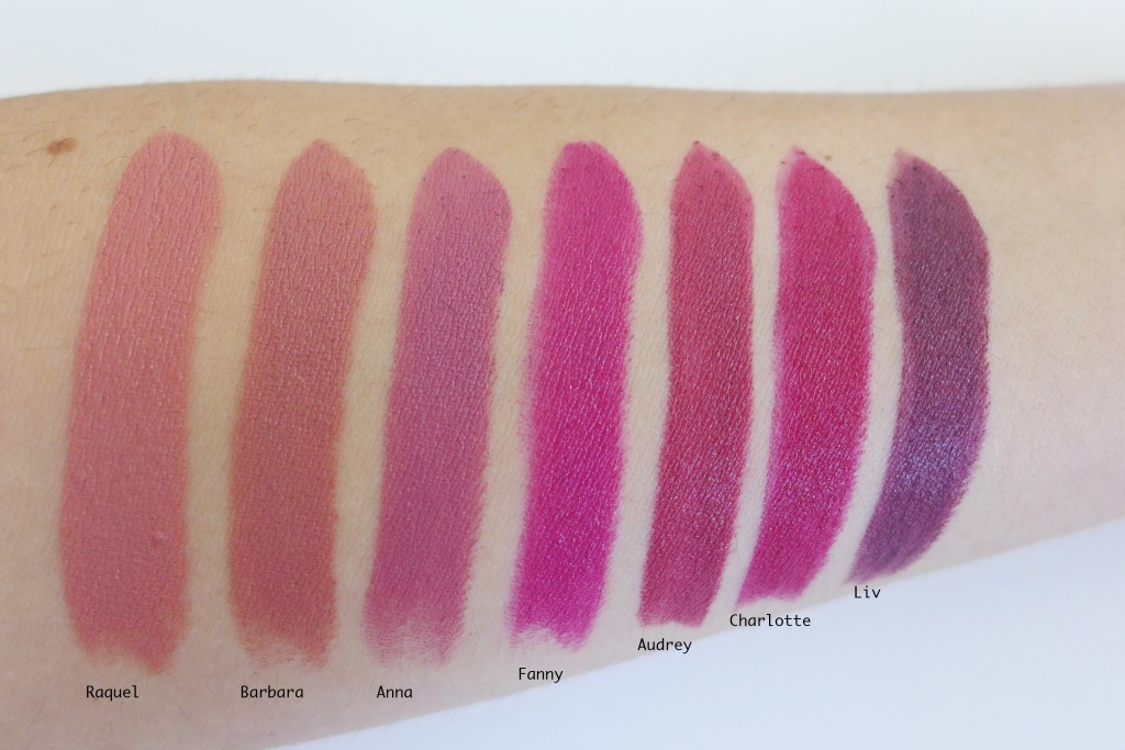 Connu Nars Audacious Lipsticks, quick review and swatches - Makeup-Sessions VE37