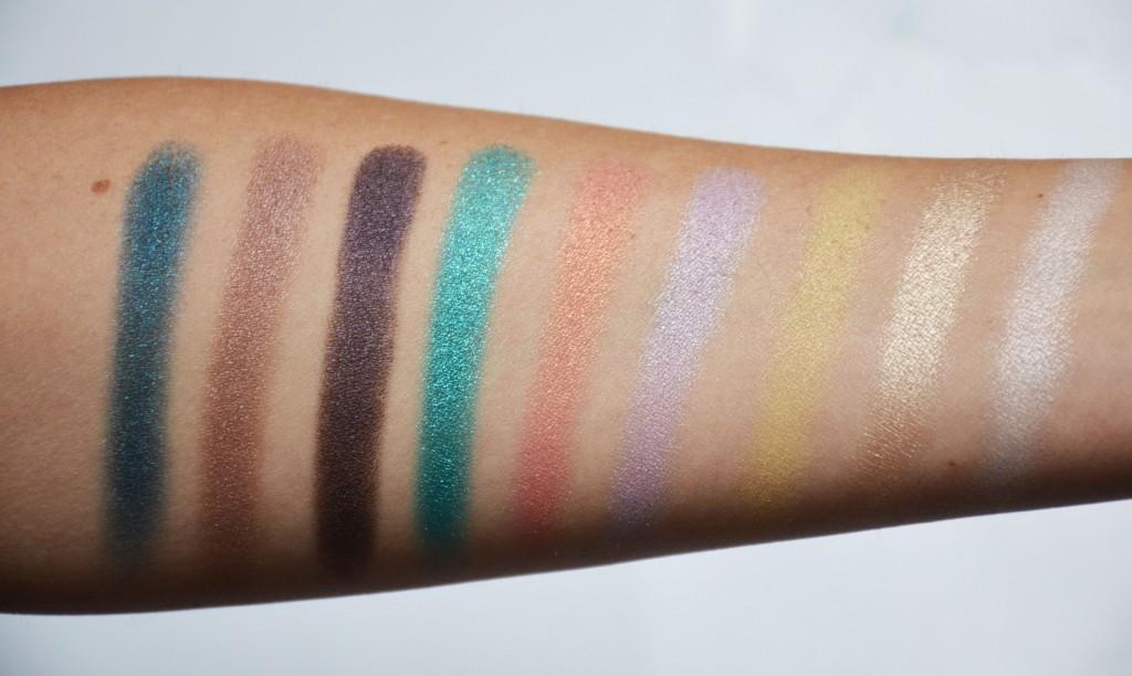 make up for ever artist palette volume 3 florals makeup sessions