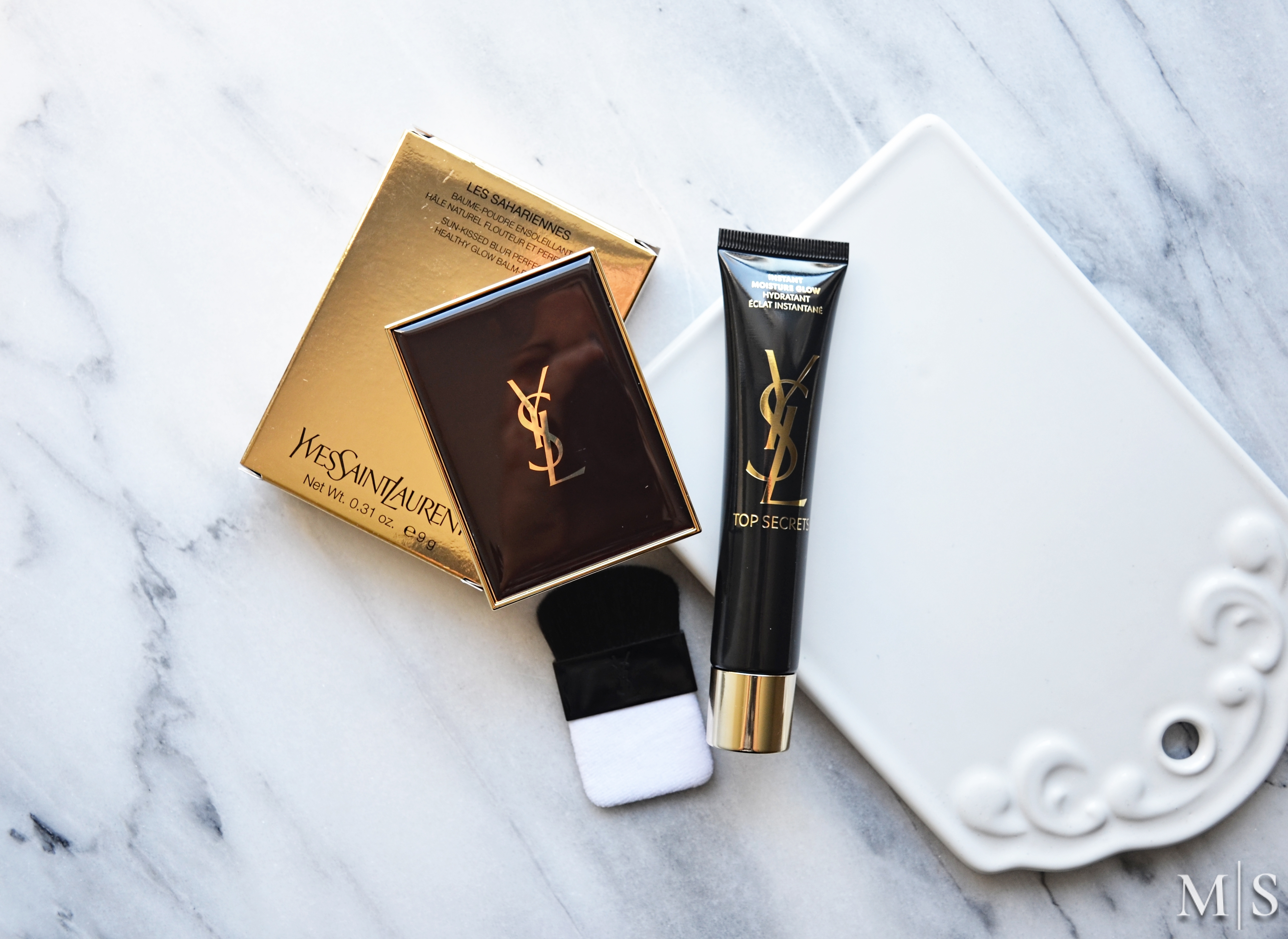 34b2af8e380 The YSL Les Sahariennes Healthy Glow Balm-Powder is a cream or actually  balm to powder bronzer that delivers a natural sun-kissed glow.