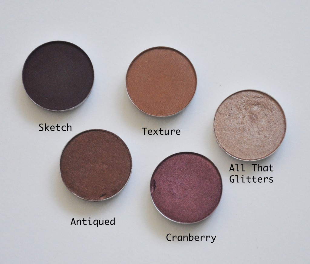 My Top 5 Mac Eyeshadows For Fall Makeup Sessions
