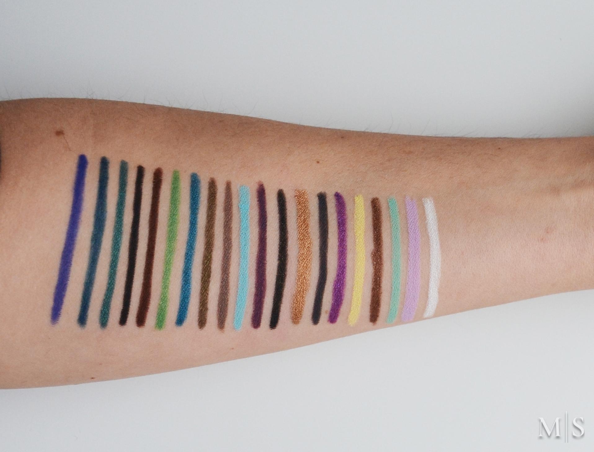 new make up for ever aqua xl eye pencils makeup sessions. Black Bedroom Furniture Sets. Home Design Ideas