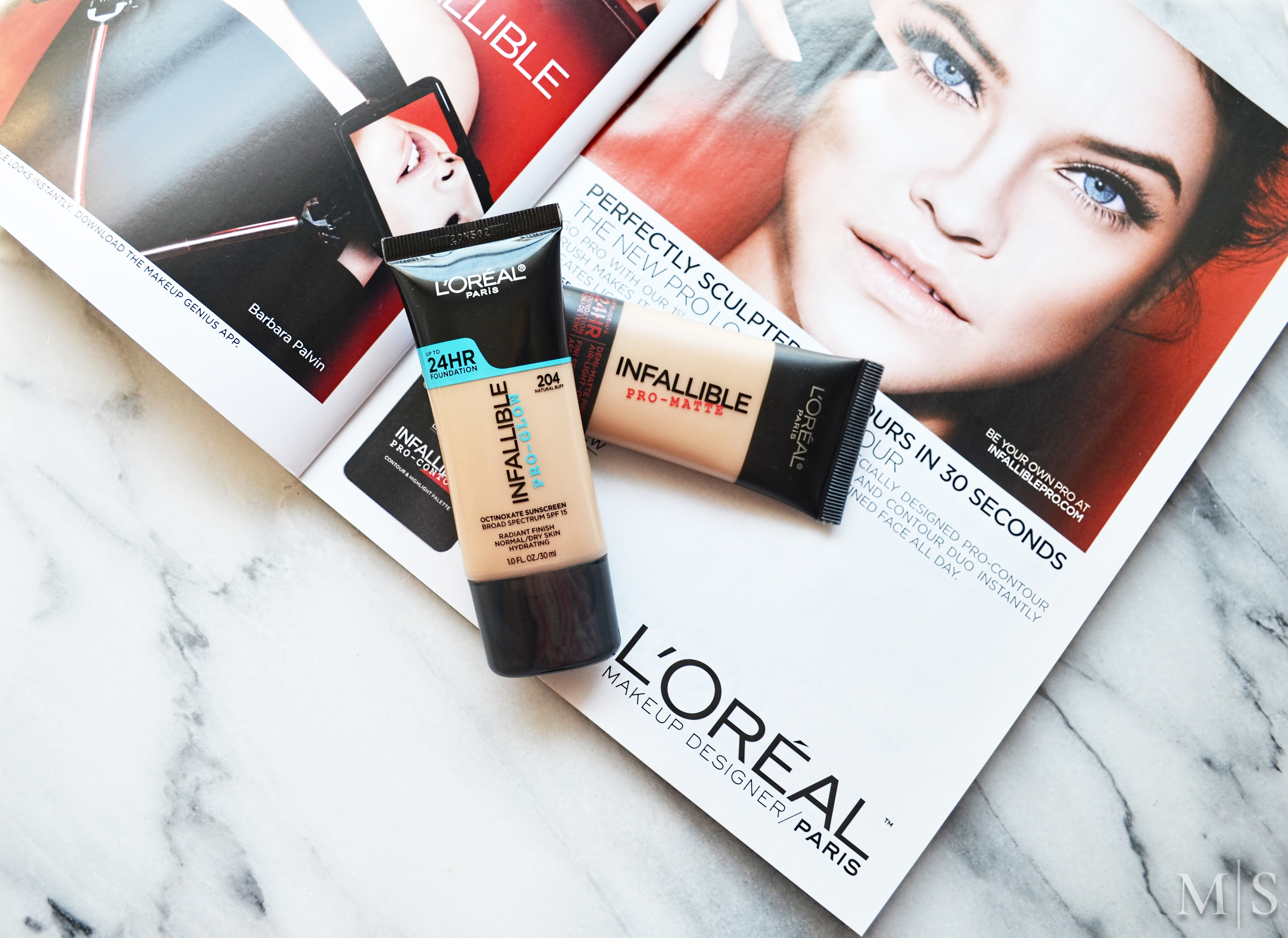 L Oreal Infallible Pro Glow Foundation Makeup Sessions