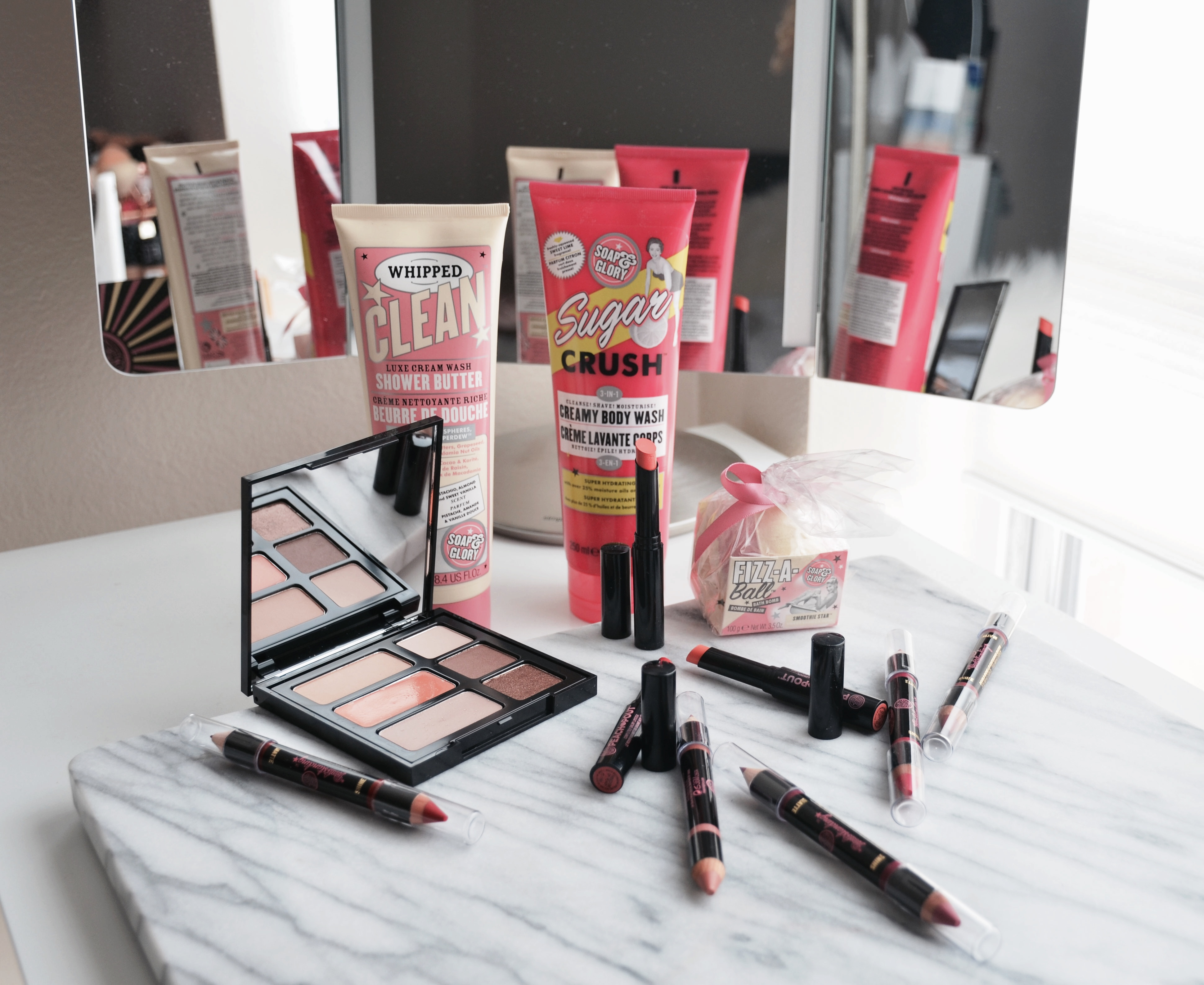 New Makeup From Soap Glory