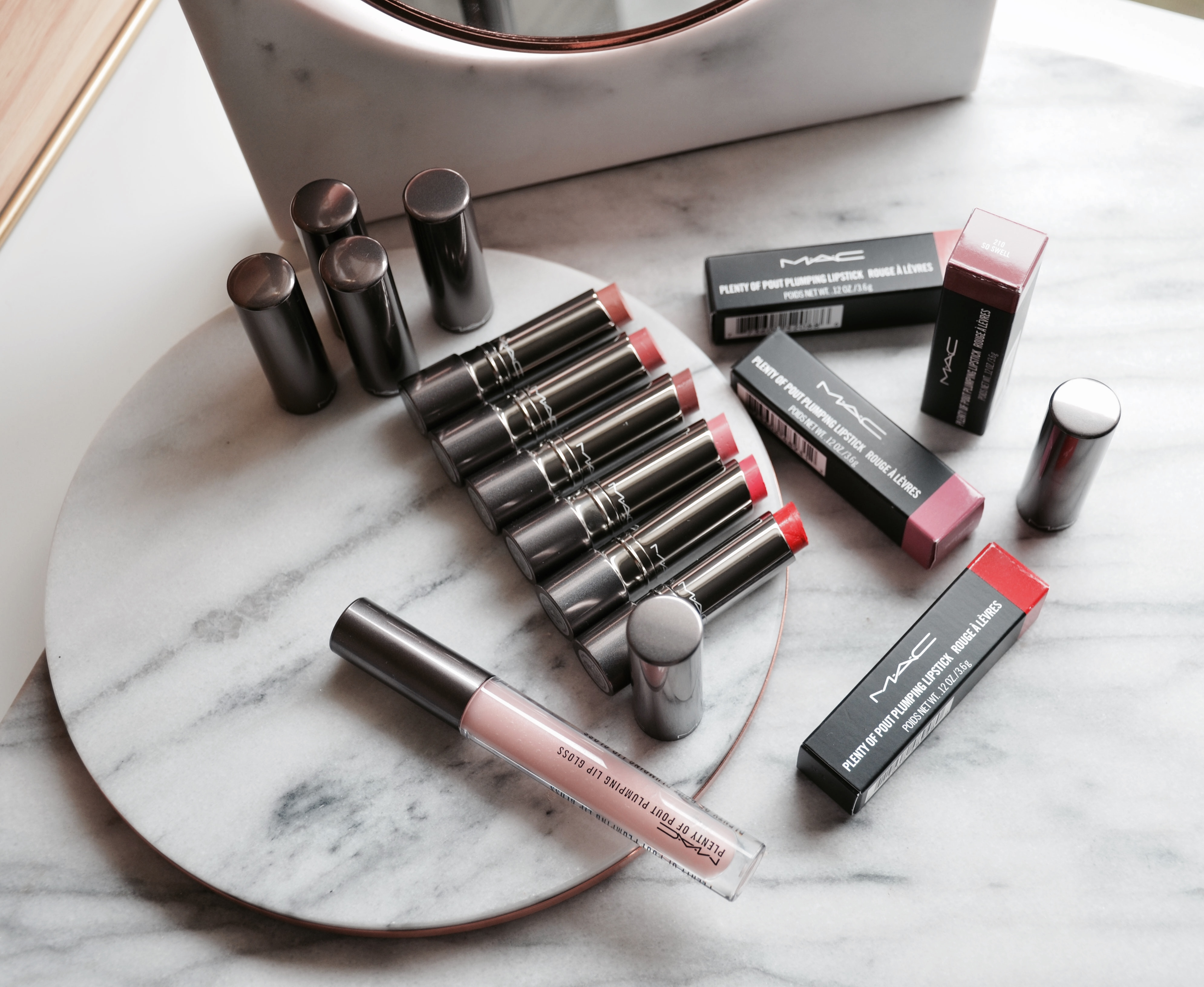Mac Plenty Of Pout Plumping Lipsticks