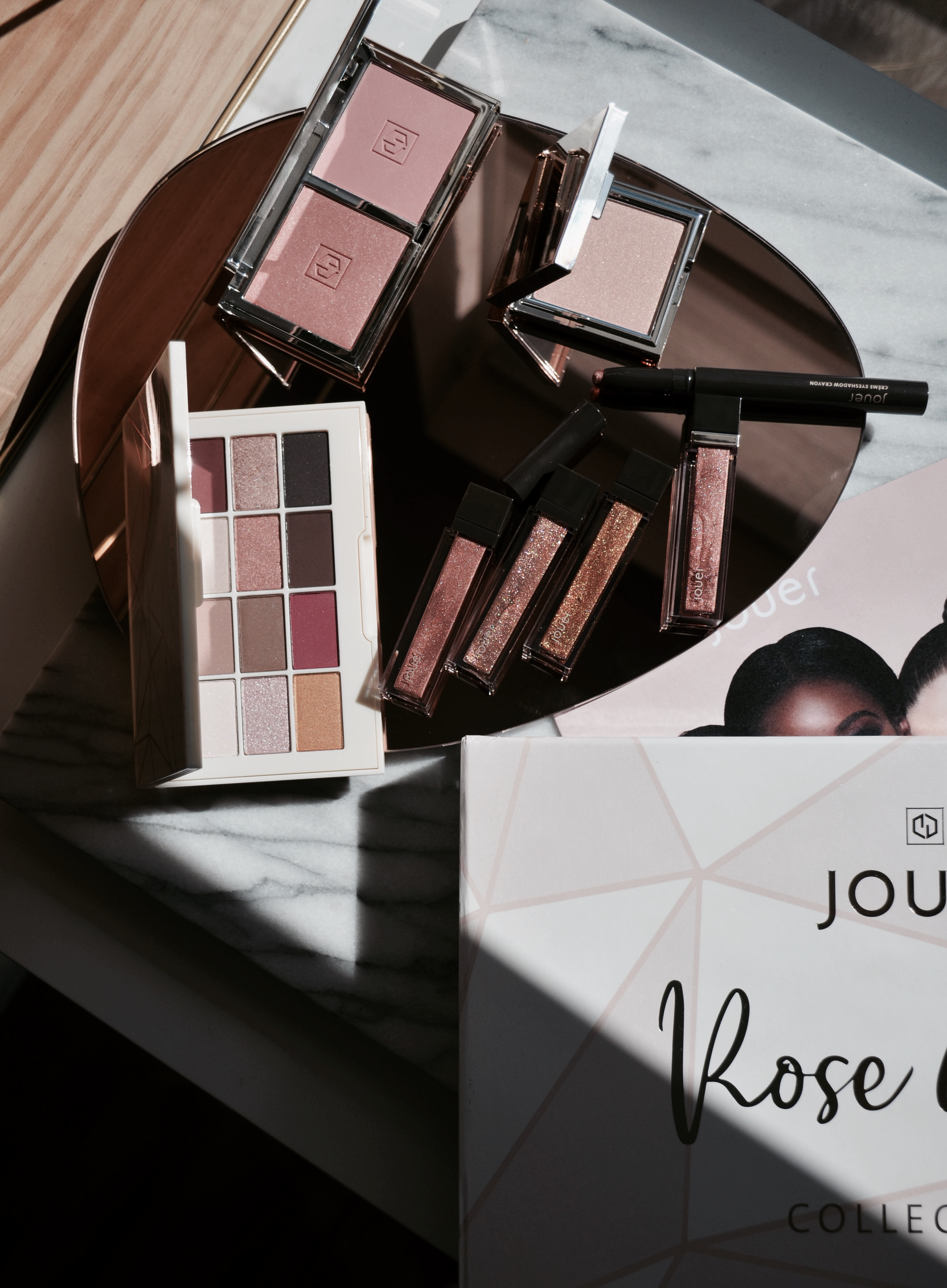 Jouer Rose Gold Collection Review & Swatches