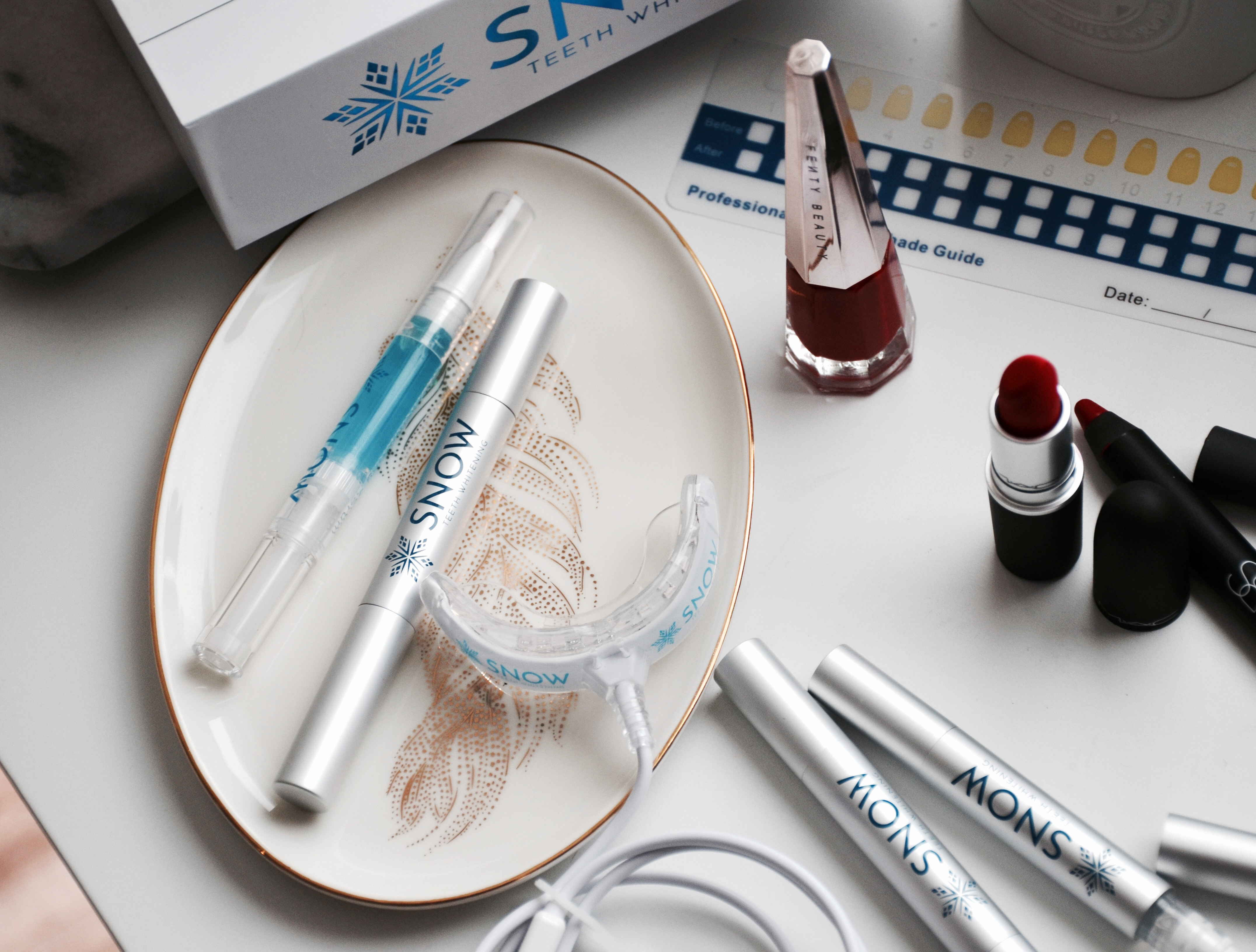 Snow At Home Teeth Whitening Kit Review Makeup Sessions