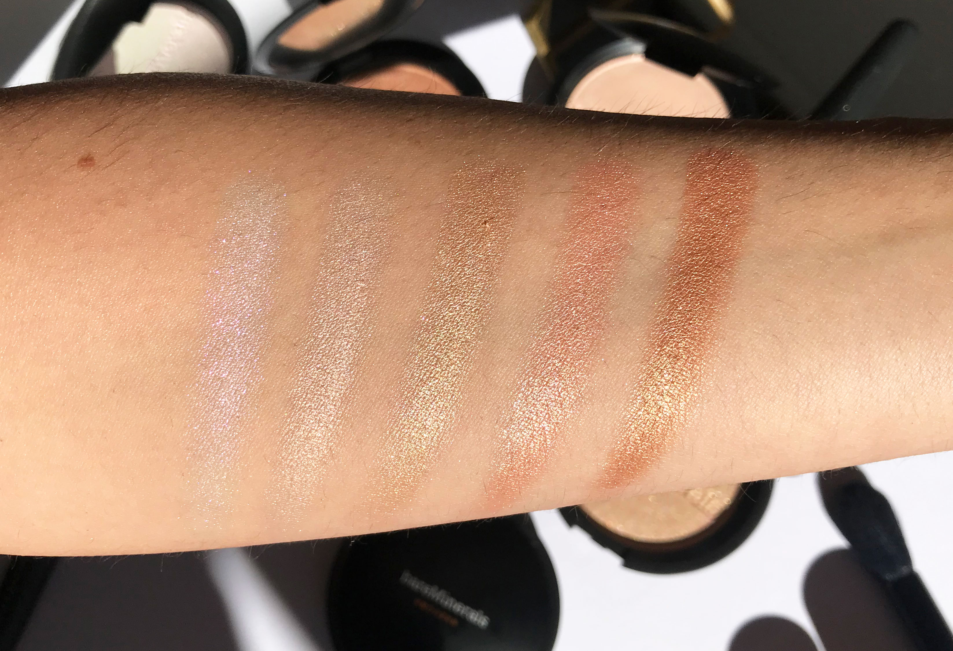 Bareminerals Clean Glow Collection Review Amp Swatches