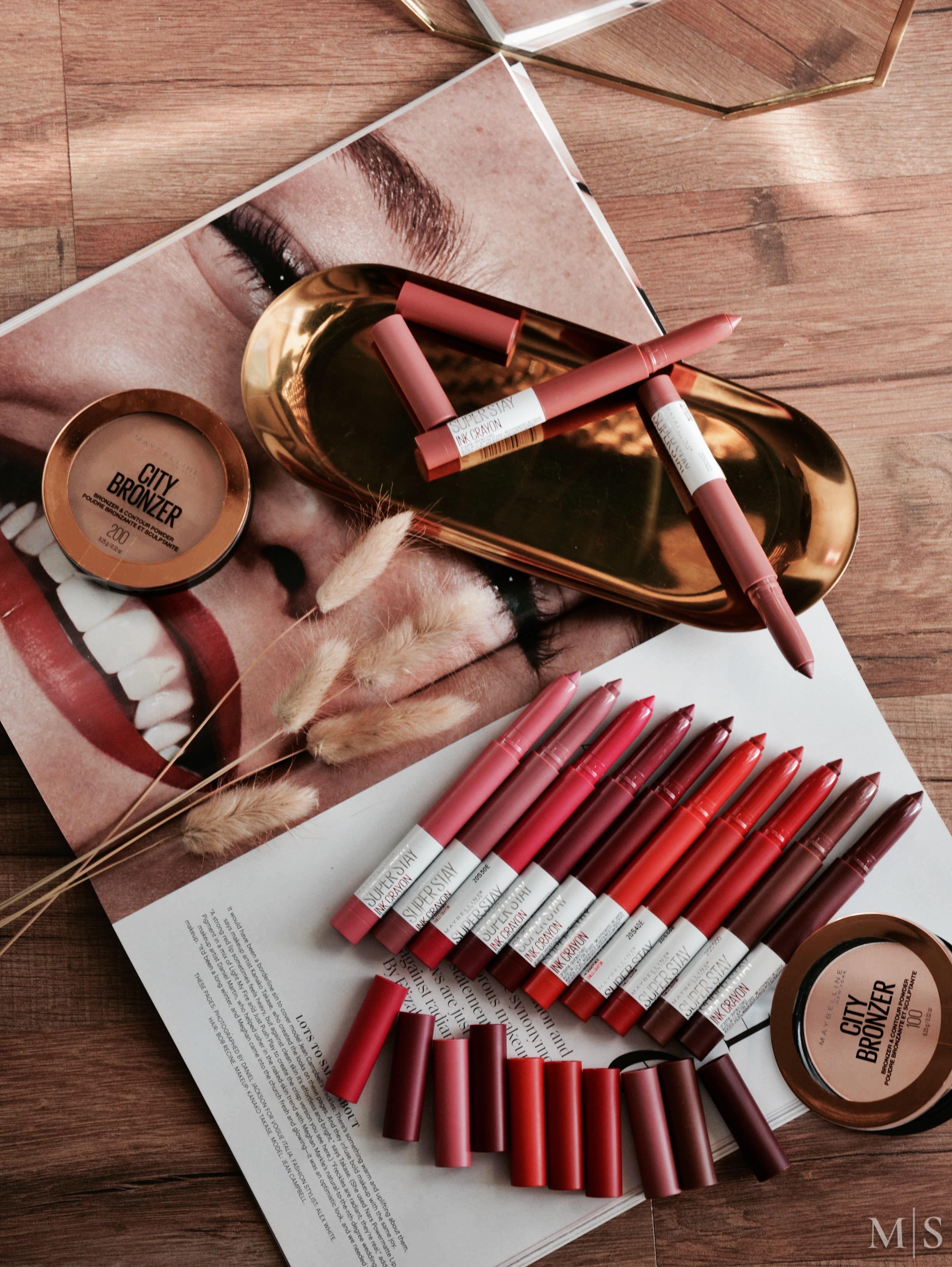 Maybelline Superstay Ink Crayon Lipstick