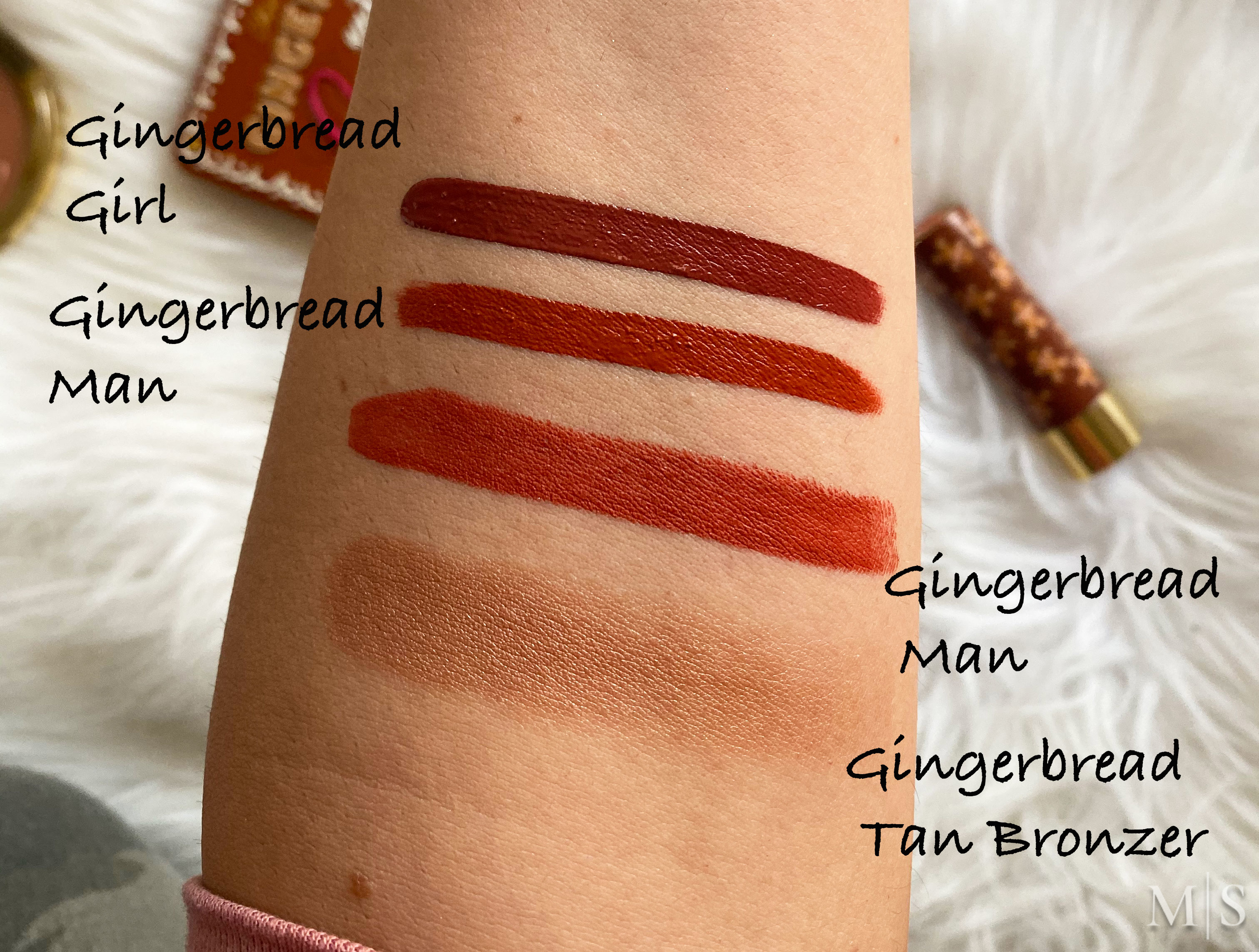 Too Faced Gingerbread Holiday Collection